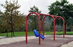 Lonely play ground Royalty Free Stock Image
