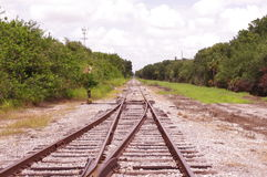Lonely Rails Royalty Free Stock Images