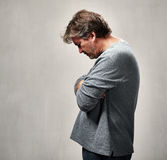 Lonely rejected man Stock Images