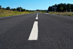 Lonely road. To nowhere royalty free stock photography