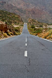 Lonely road. To nowhere royalty free stock images
