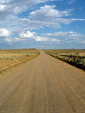 Lonely Road. A lonely road to nowhere Stock Photography