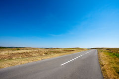 Lonely road Stock Photography