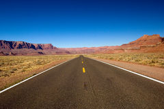 Lonely road Royalty Free Stock Image