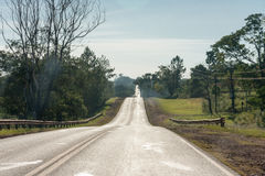 Lonely Road in Argentina Stock Images