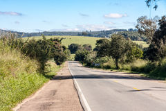 Lonely Road in Argentina Royalty Free Stock Images