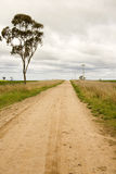 Lonely road australia Stock Photography