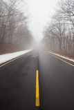 Lonely road Stock Image