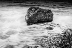 Lonely Rock stock photo