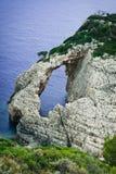 Lonely rocks at Zakynthos island Royalty Free Stock Photo
