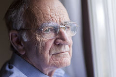 Lonely senior man Royalty Free Stock Photos