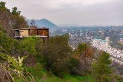 Lonely Shack. Shack built at Elysian Park Royalty Free Stock Photos