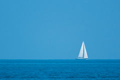 Lonely ship Royalty Free Stock Photography