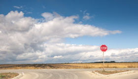 Lonely sign Royalty Free Stock Images