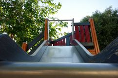 Lonely slide Royalty Free Stock Image