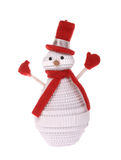 Lonely snowman Royalty Free Stock Photo