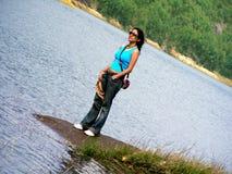 lonely standing Στοκ Φωτογραφίες