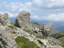 Lonely stones - Gennargentu National Park Stock Image