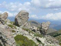 Lonely stones - Gennargentu National Park Stock Image