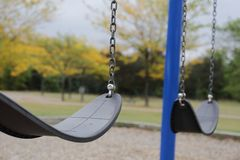 Lonely Swings Royalty Free Stock Photo
