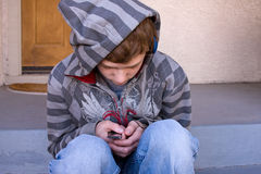 Lonely Teenager Royalty Free Stock Photography