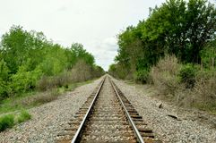 Free Lonely Tracks Stock Photography - 16553462