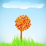 Lonely tree. Stock Photo