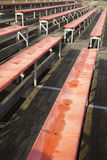 Lonely tribune. Empty stands on a lonely tribune Royalty Free Stock Photos
