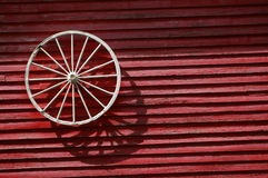 Lonely wheel stock photo