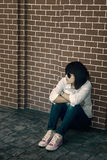 Lonely Woman Stock Images