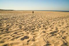 Lonesome beach of the Baltic Sea Stock Photos