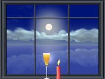 Lonesome celebration Royalty Free Stock Photo