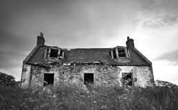 Lonesome Cottage Stock Photography