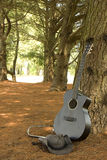 Lonesome Guitar Stock Images