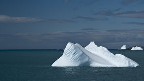 Lonesome Iceberg Royalty Free Stock Photography