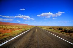 Lonesome road Stock Photography