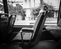 Loney-Bus tauschen aus lizenzfreie stockfotos