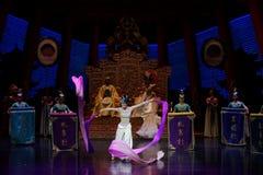 Long acte gainé de la danse de cour 5-The en second lieu : un festin dans le ` en soie de princesse de danse de ` palais-épique d Photographie stock libre de droits