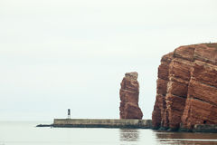Long anna by helgoland Stock Photos