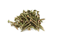 A long anodized screws Royalty Free Stock Photo