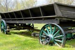 Long Antique Wagon Royalty Free Stock Photos