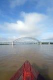 Long arch bridge Royalty Free Stock Photos