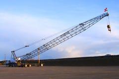Long arm crane. Stock Photo