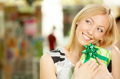Long-awaited gift Royalty Free Stock Photos