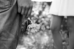 Long-awaited wedding day Stock Photo