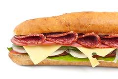 Long Baguette Sandwich Stock Images