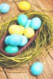 Long basket, tinted Stock Image