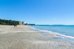 Long Bay Beach Park in Auckland,New Zealand. Royalty Free Stock Photos