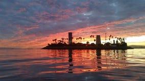 Long Beach ö Fotografering för Bildbyråer