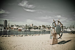 Long Beach Royalty Free Stock Photography